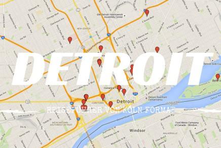 Reiseführer Detroit – die Karte mit allen Tipps und Sehenswürdigkeiten