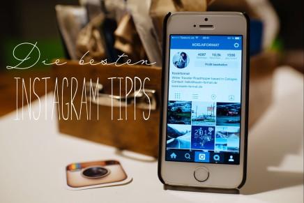 App Tipp – wie ihr ein großes Foto in eurem Instagram Feed postet