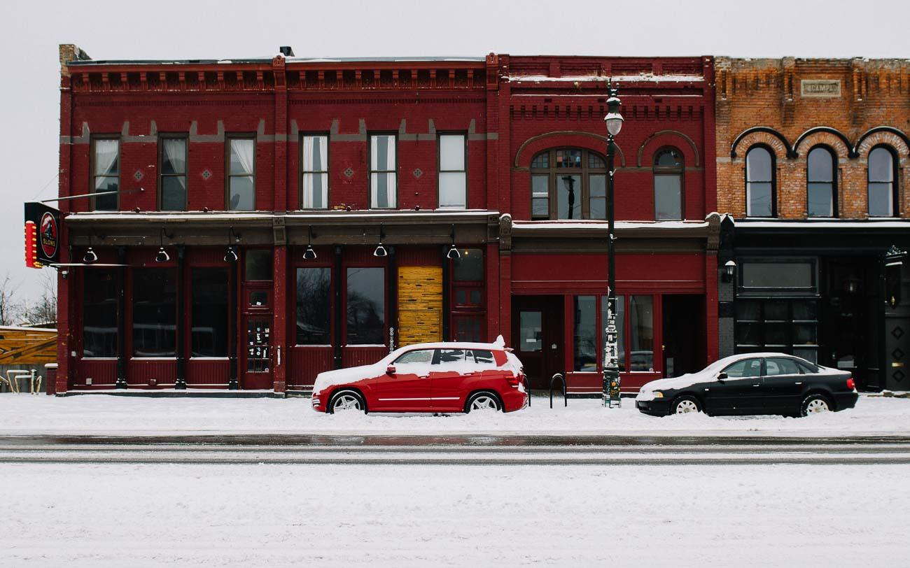 Corktown Slows BBQ Detroit Michigan Avenue GLK Mercedes-Benz