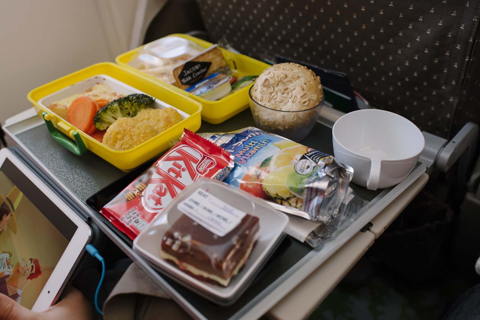 Langestreckenflug mit Kind mit Singapur Airlines