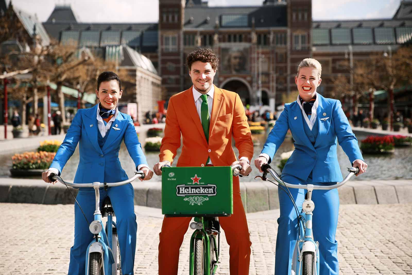 KLM Heineken Orange Experience Koningsdag Amsterdam