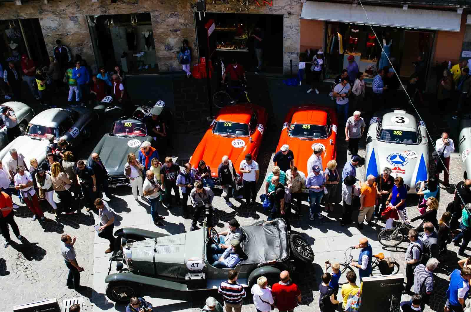 Brescia Mille Miglia 2014 Köln Format