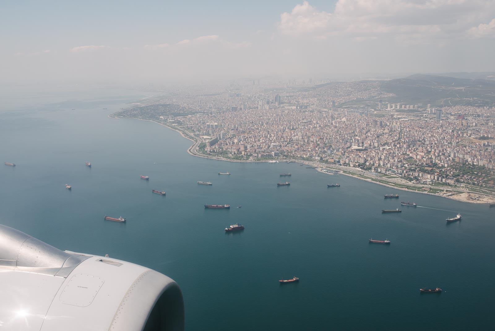 Anflug germanwings Istanbul Sabiha