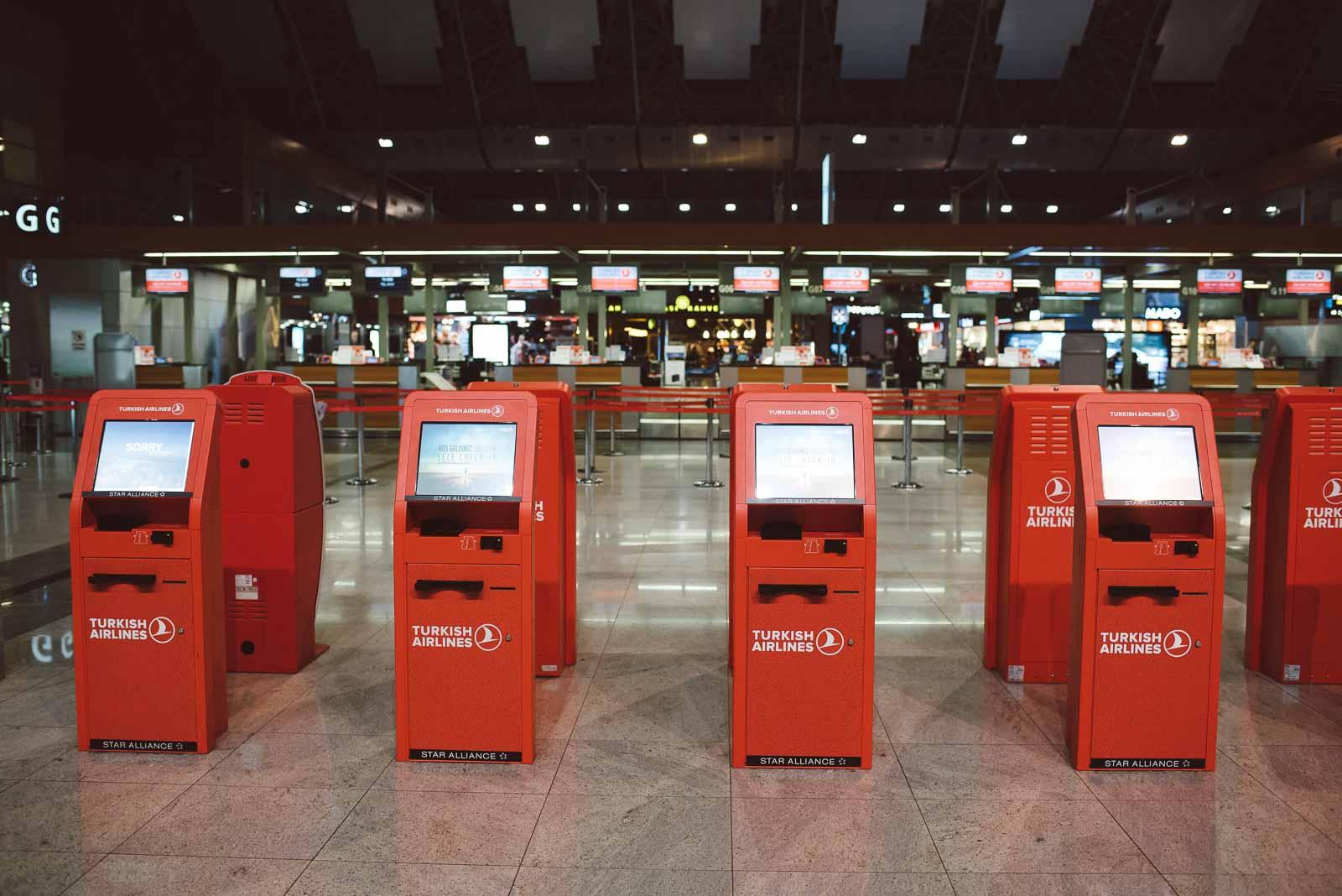 Istanbuler Flughafen Sabiha Gökcen Turkish Airlines