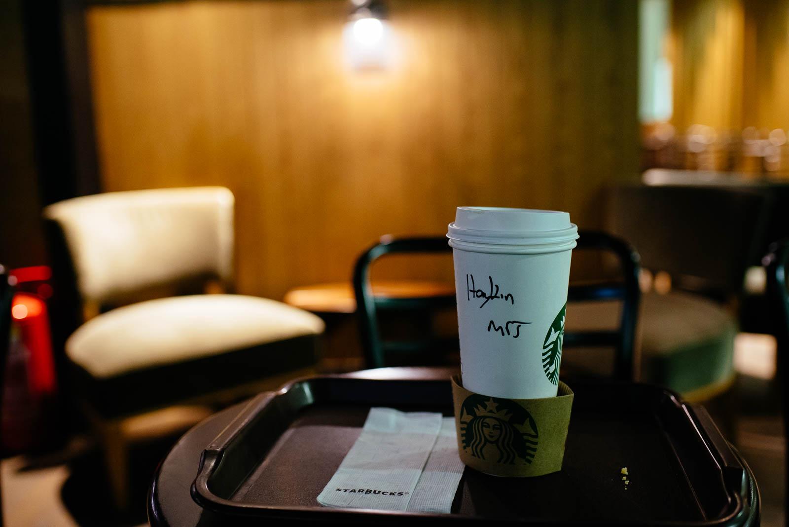 Reisepannen Istanbuler Flughafen Sabiha Gökcen Starbucks Name falsch geschrieben