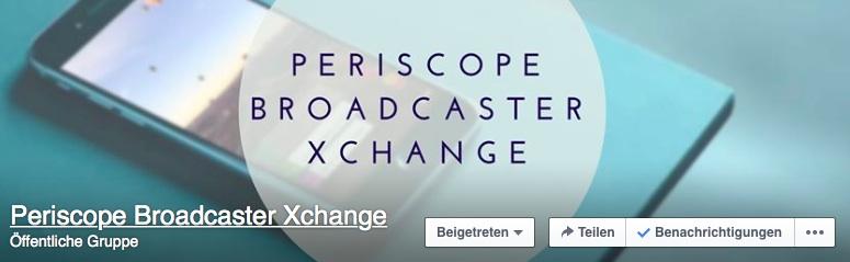 Periscope Facebook Gruppe Tipps und Tricks