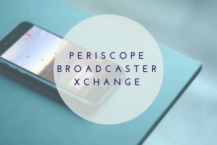 Die Periscope Facebook Gruppe zum Austausch – Periscope Broadcaster XChange