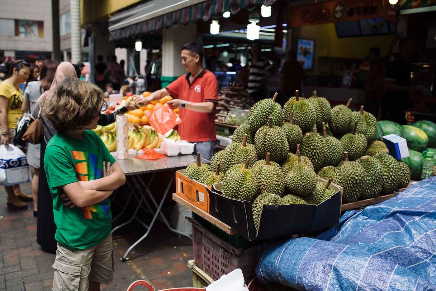Singapur Sehenswürdigkeiten: der Markt