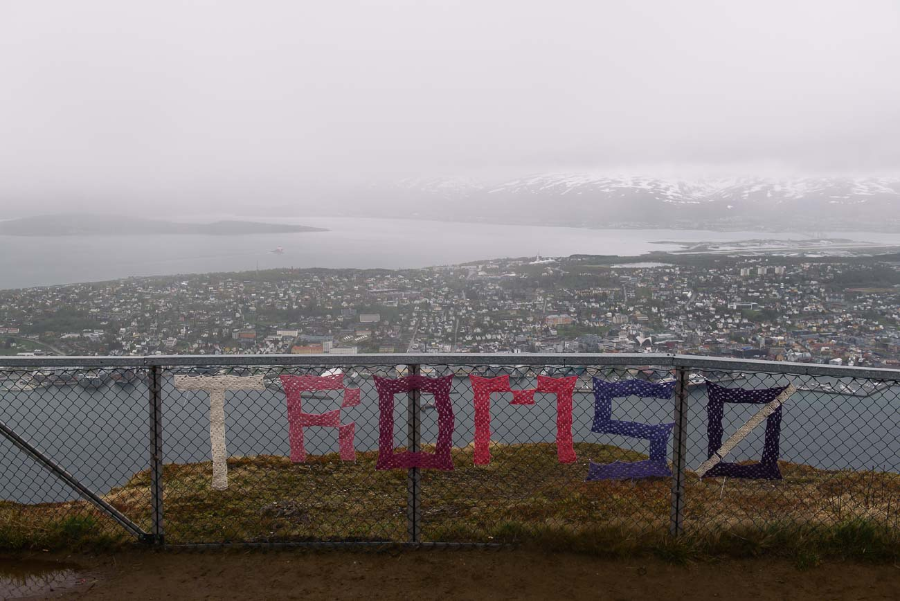 Tromso vom Fjellheisen - Seilbahn