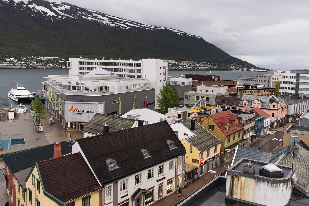 Blick auf Tromsø