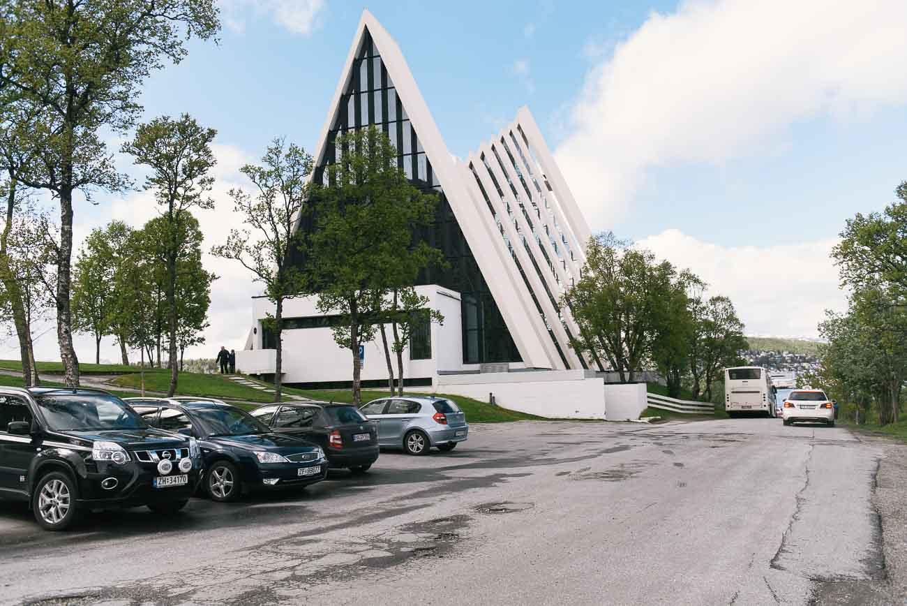 Arctic Cathedral - die arktische Kathedrale in Tromsø