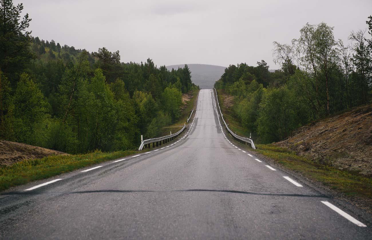 Straßen in Norwegen