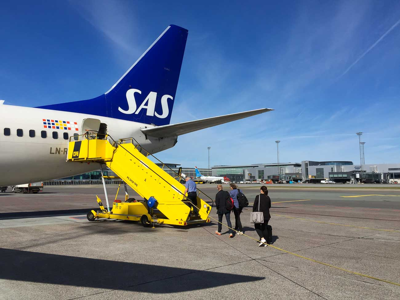 Erfahrungen Scandinavian Airlines / SAS Airline