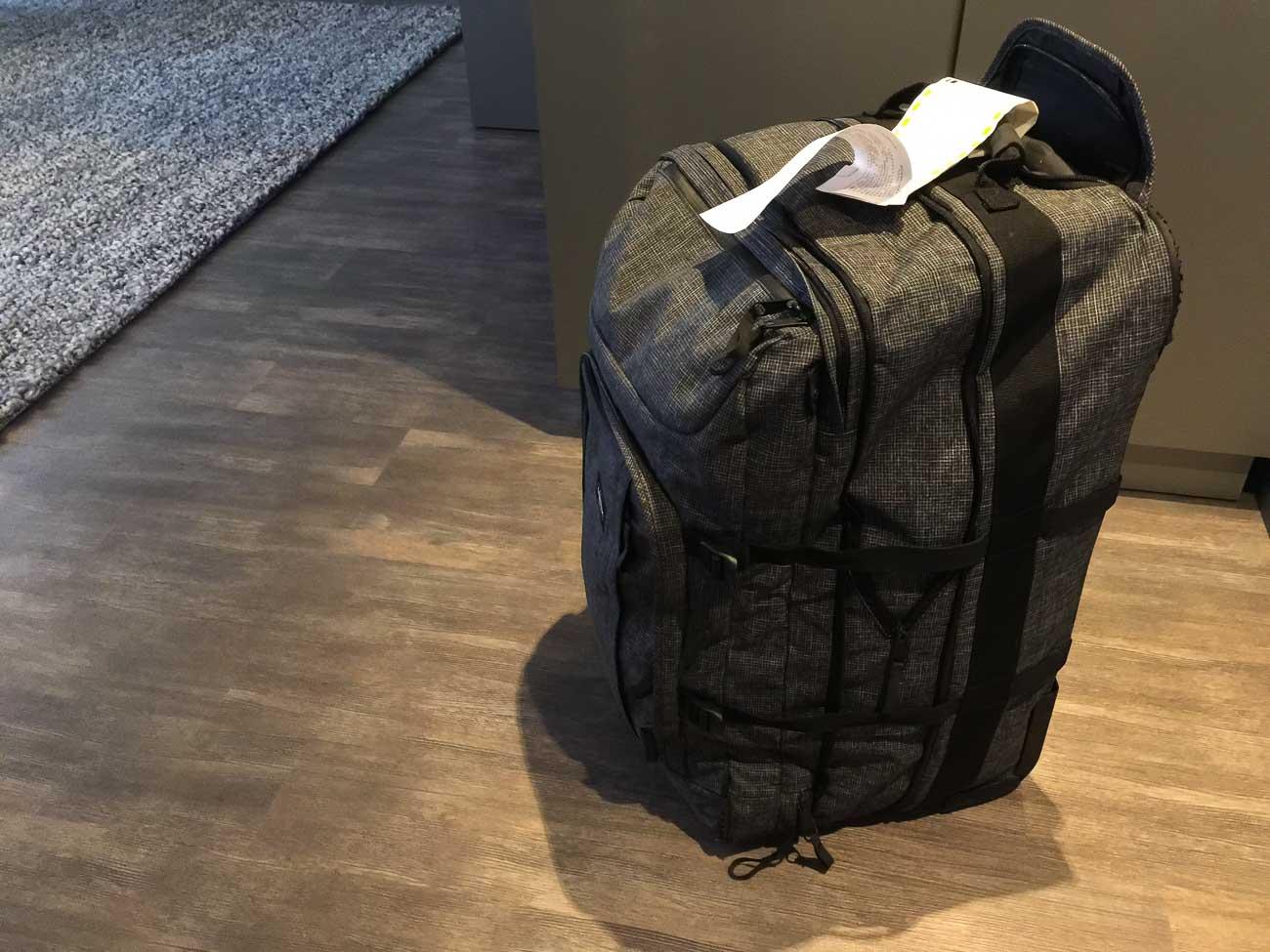 Koffer weg Scandinavian Airlines