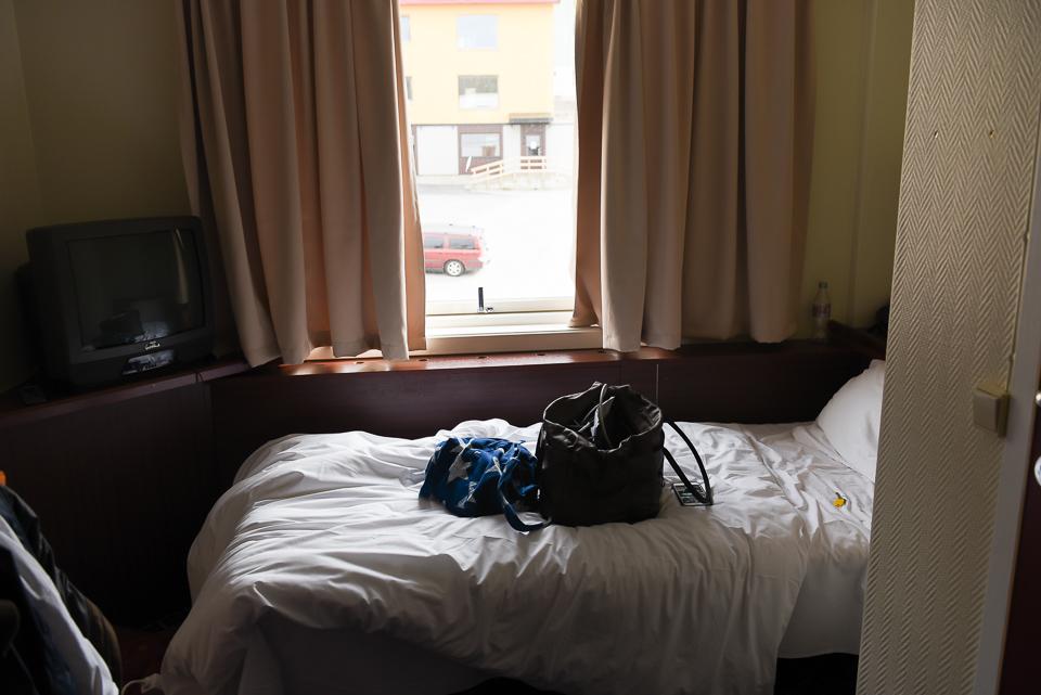 Das Scandic Hotel in Honningsvag