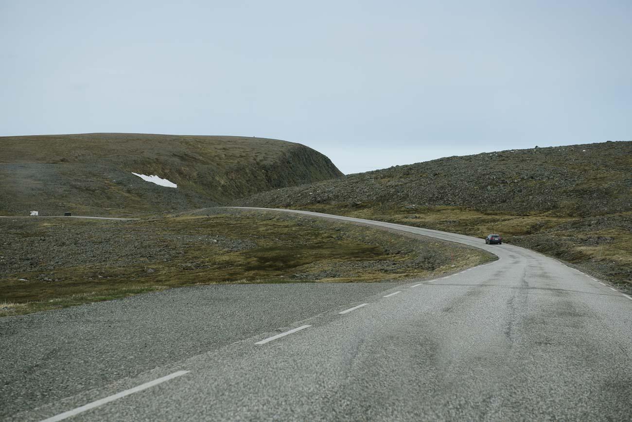 mit dem Auto zum Nordkap
