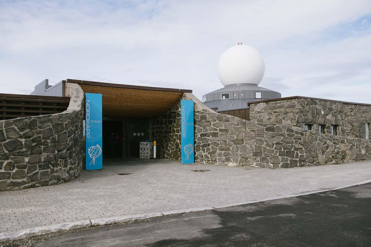 Eingang Nordkap Nordkaphallen
