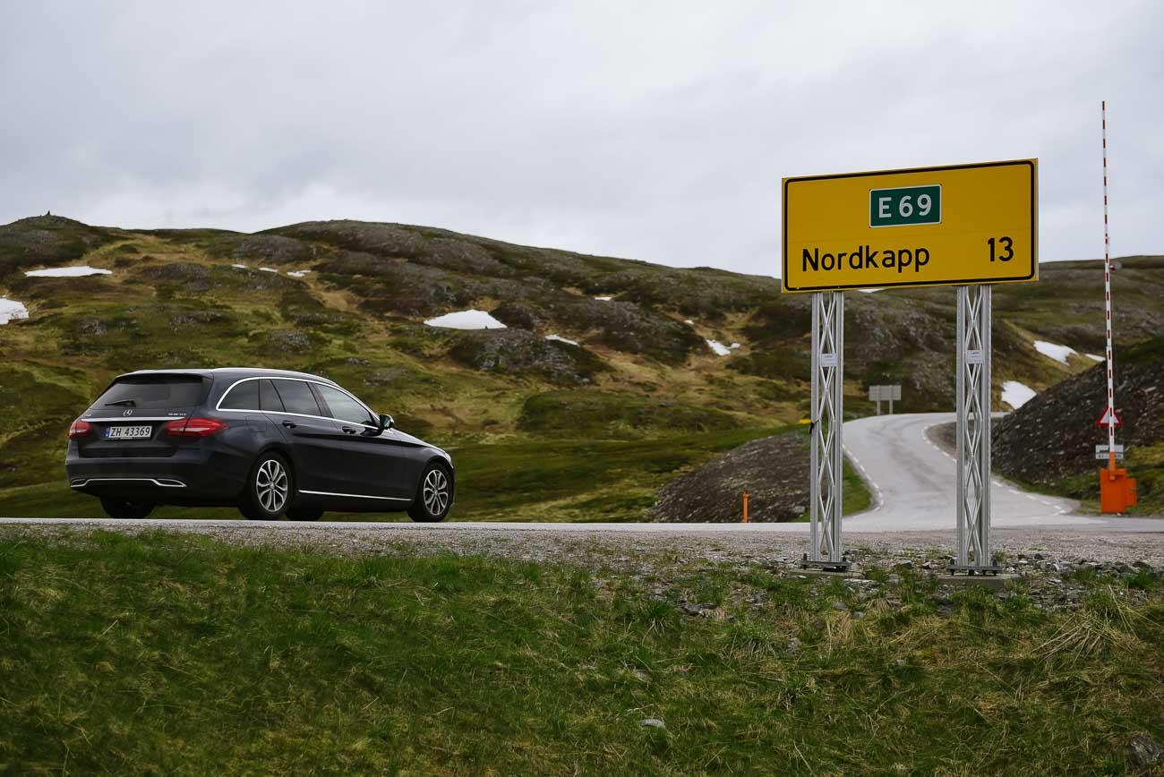 noch 13 Kilometer bis zum Nordkap