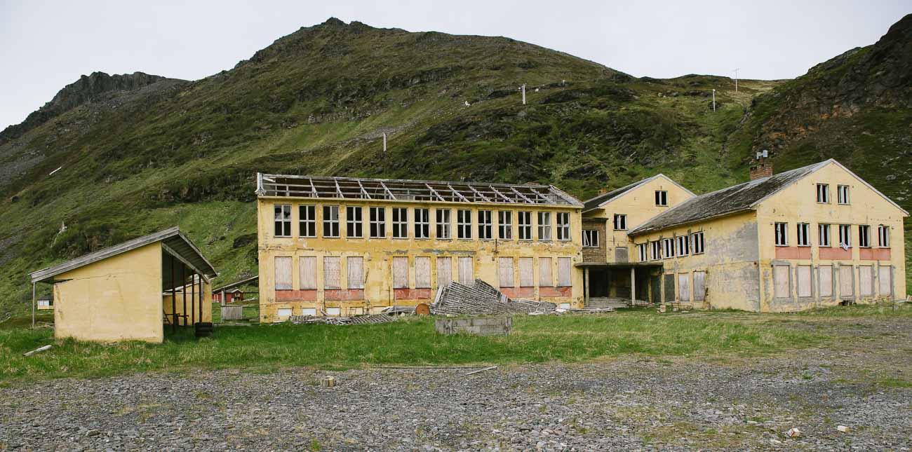 Lost Place auf dem Weg zum Nordkap