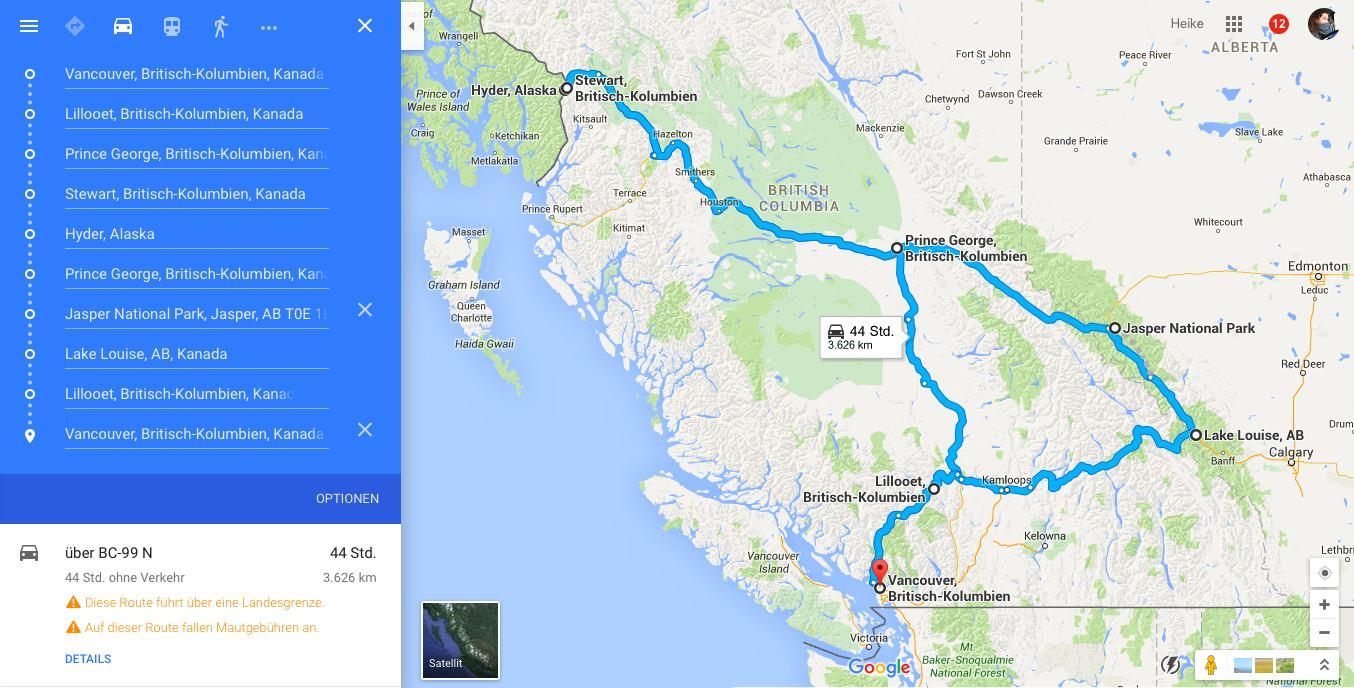 Roadtrip Canada 2015