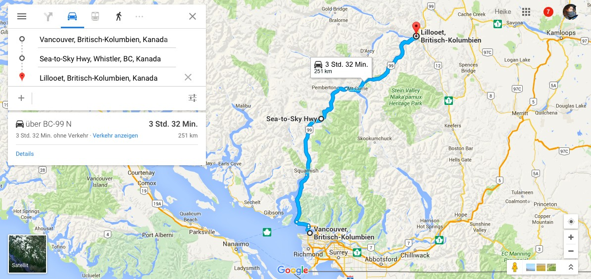 Roadtrip Kanada Tag 1