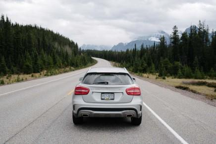 Zwei Tage auf dem Icefields Parkway in Alberta