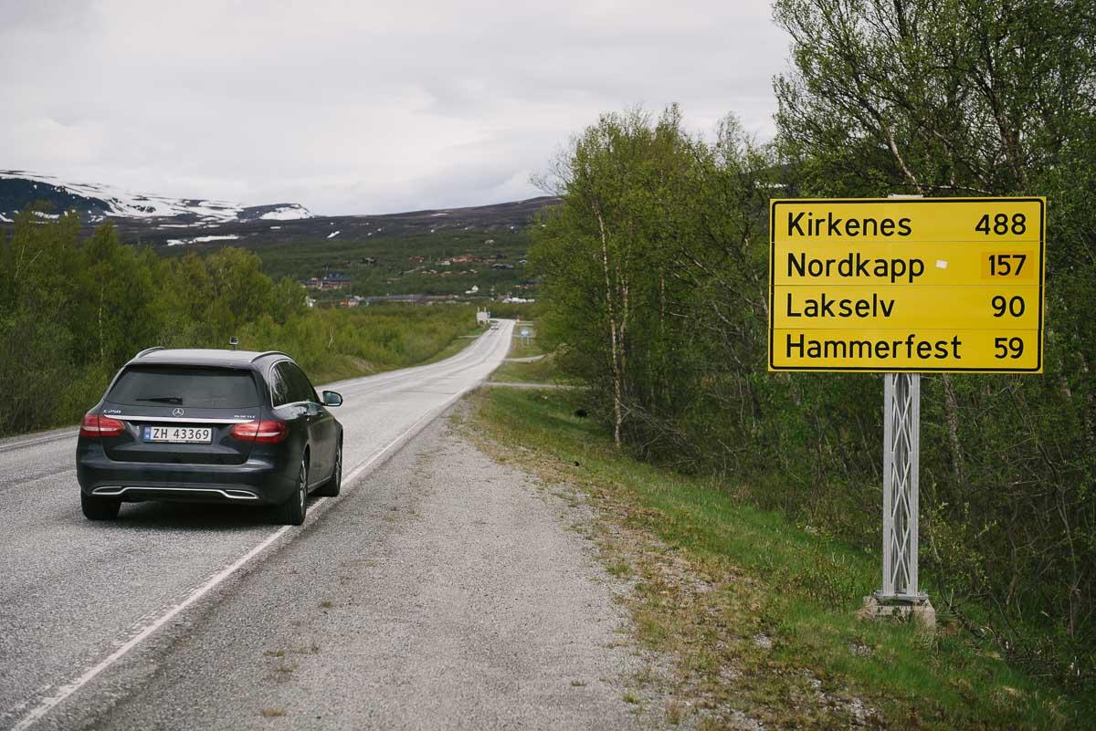Roadtrip Norwegen - auf dem Weg nach Hammerfest
