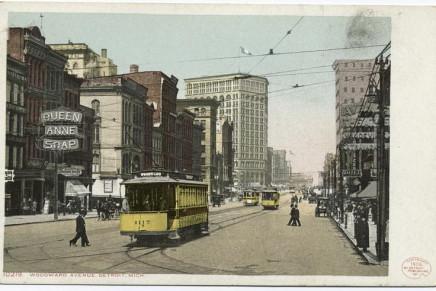 Zeitreise ins Detroit von vor über hundert Jahren – dank der New York Public Library