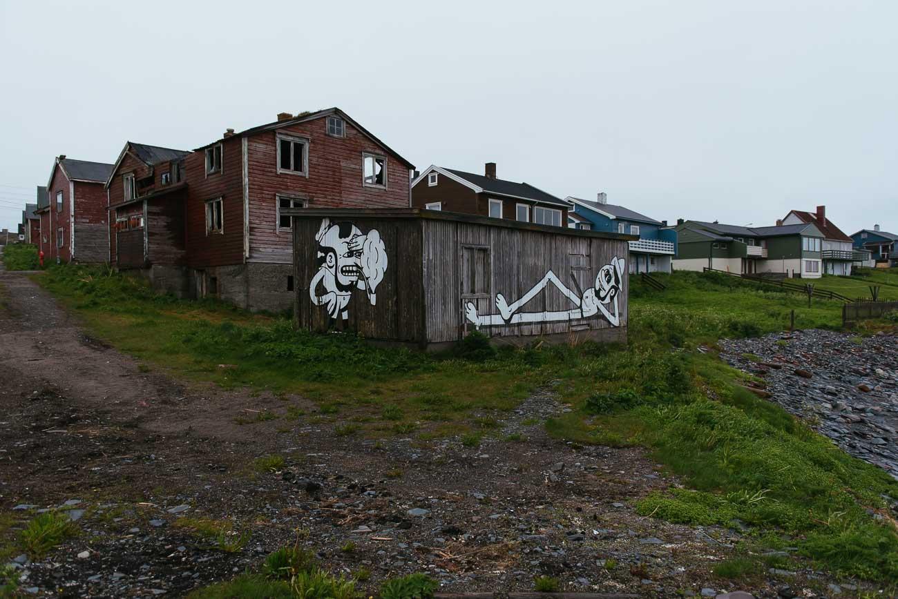 Mitternacht in Vardø an der Barentssee, Nordnorwegen
