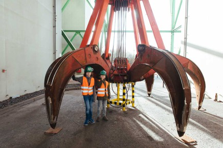 Zu Besuch in der Müllverbrennungsanlage Köln – Aus Müll Strom machen