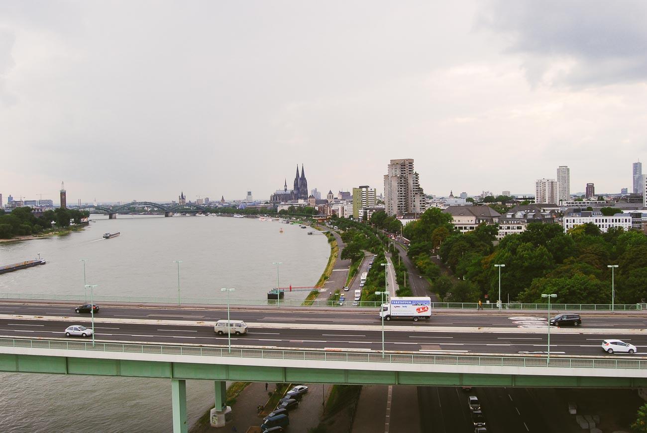 Die besten Sehenswürdigkeiten in Köln - die Kölner Seilbahn