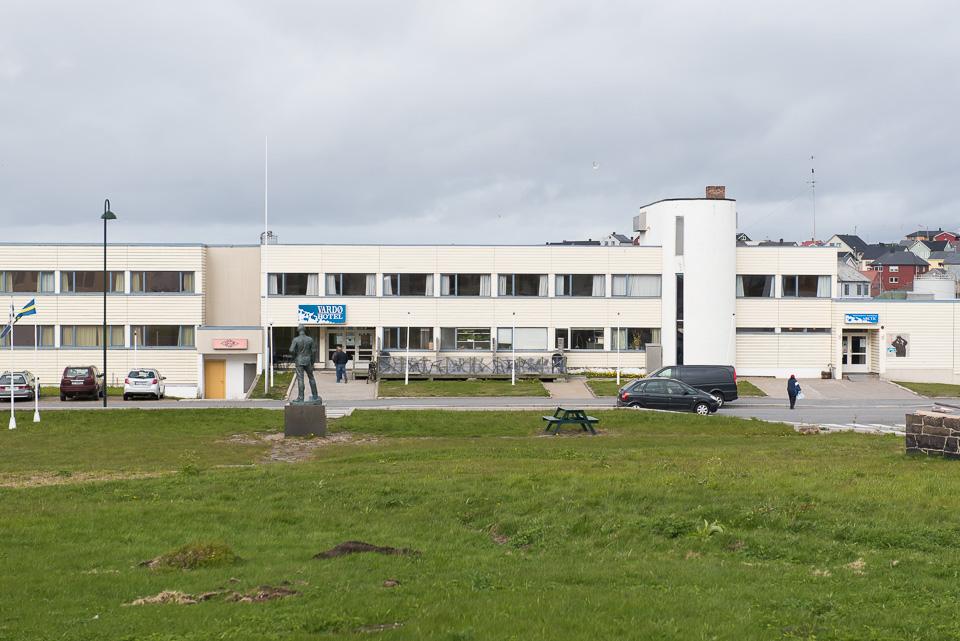das einzige Hotel in Vardo - das Vardø Hotel