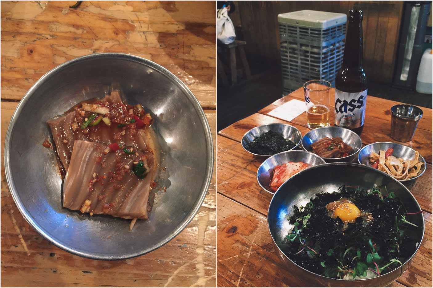 Bibimbap, Kulinarische Köstlichkeiten in Seoul