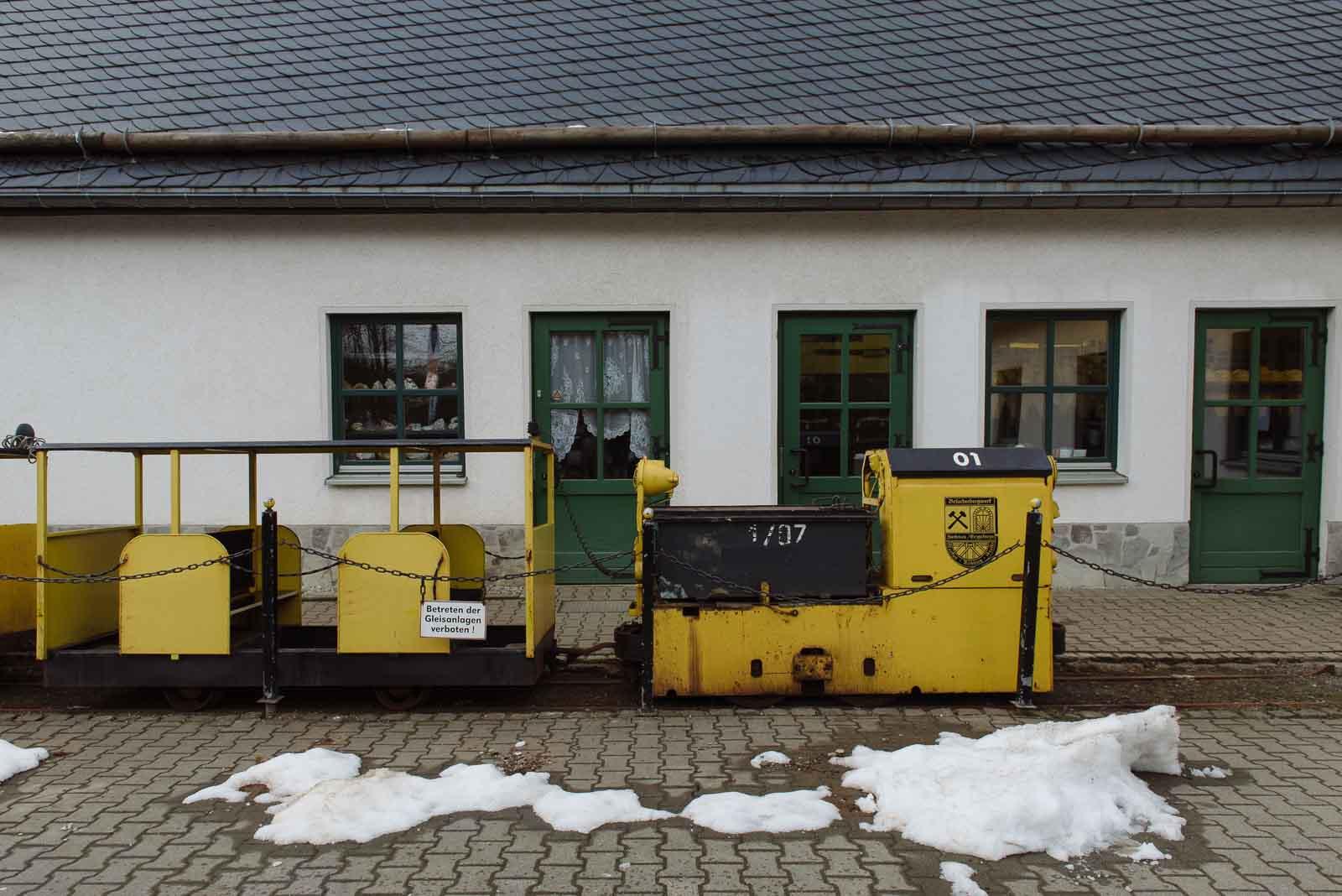 Grubenbahn Markus-Röhling-Stolln Erzgebirge