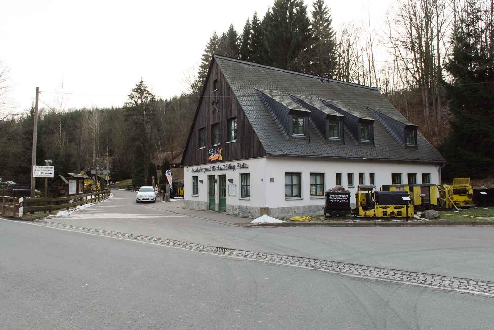 Besucherbergwerk Markus-Röhling-Stolln Erzgebirge