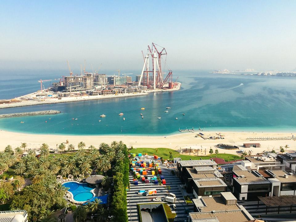Dubai mit Kindern - Blick vom JA Ocean View Dubai