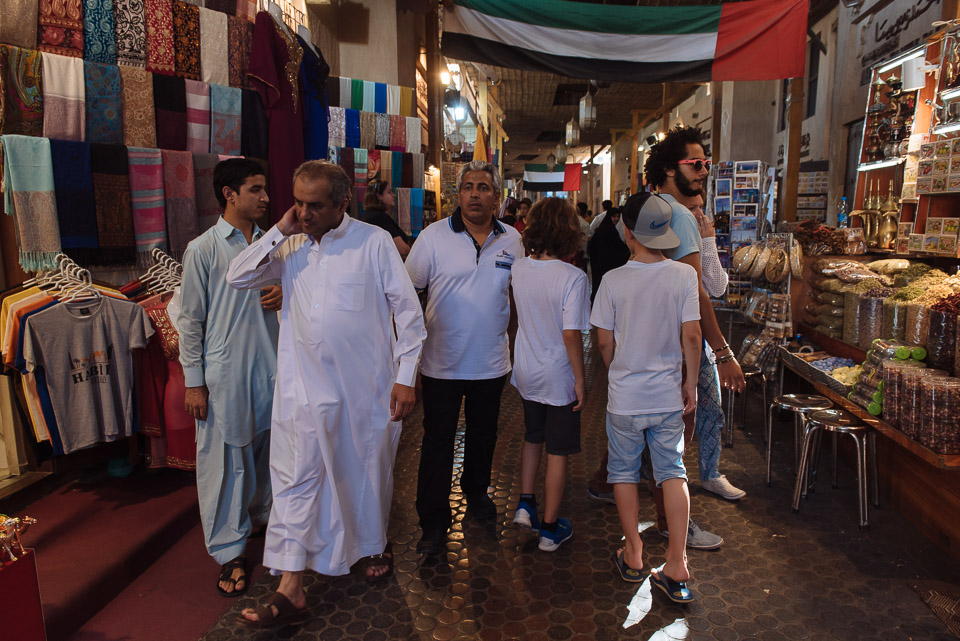 Dubai mit Kindern - Souks