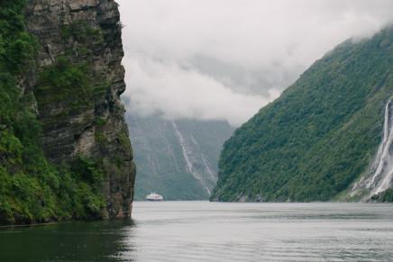 Der Geirangerfjord – mit dem Auto zum schönsten Fjord der Welt