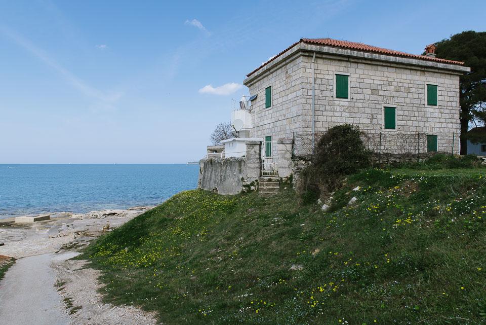 Kroatien mit Kindern - Leuchtturm Kap Zub