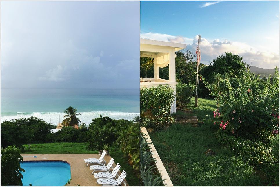 Blick von der Casa Tucepi auf Vieques