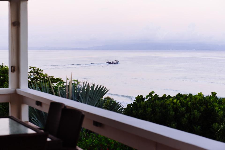 Die Fähre verläßt Vieques