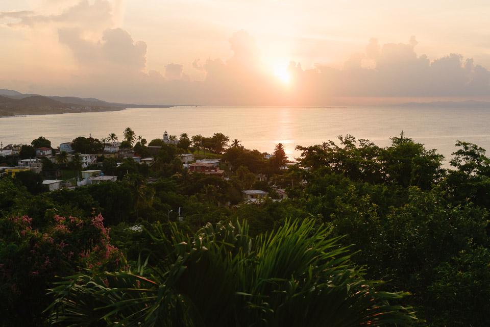 Sonnenaufgang über Vieques, Puerto Rico