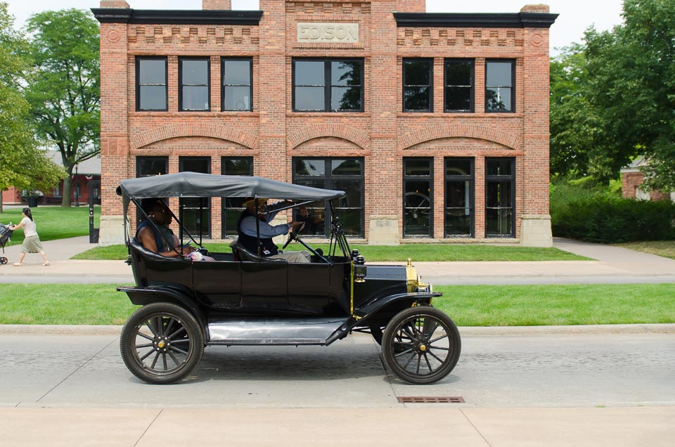 im Model T durch das Greenfield Village
