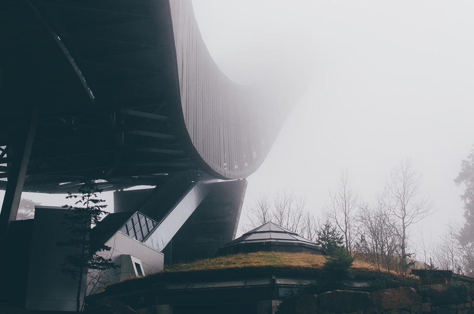 das Skimuseum am Holmenkollen in Oslo