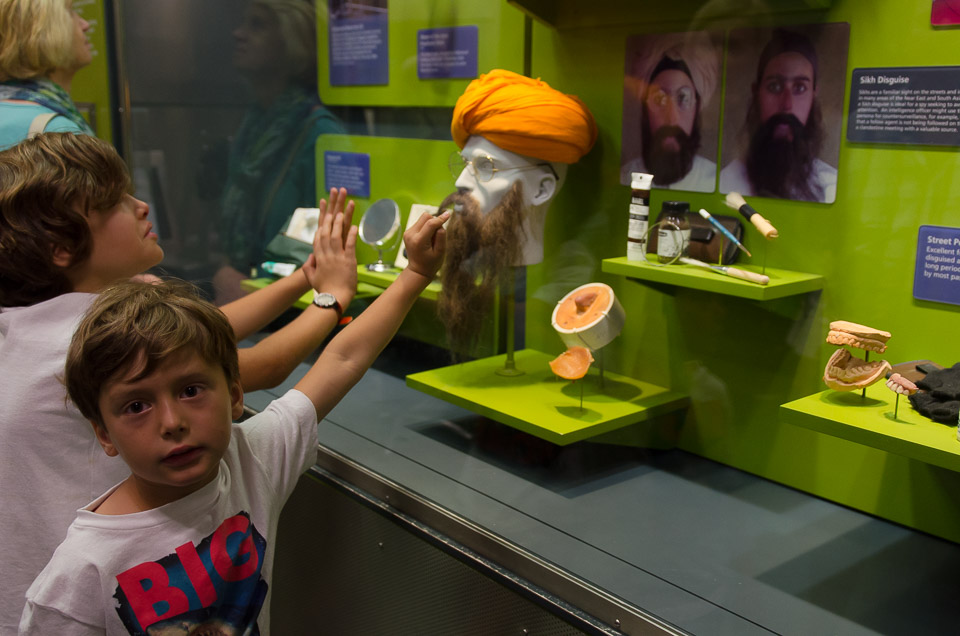 das Spy Museum in Washington