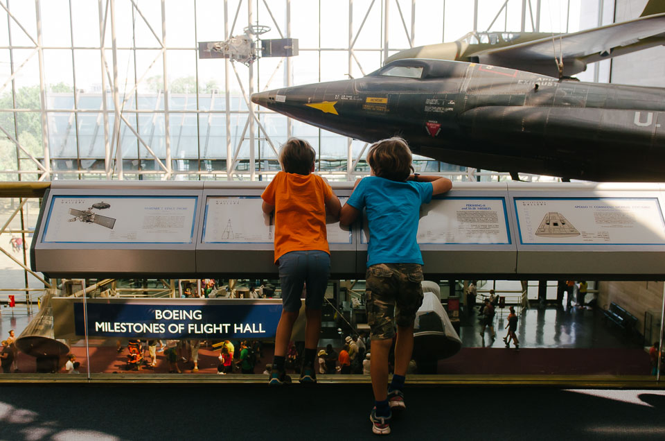 das Air and Space Museum in Washington DC