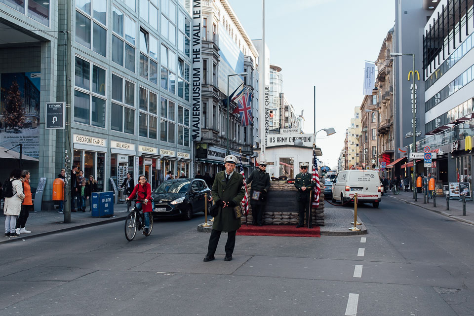 Touristenmagnet Checkpoint Charlie