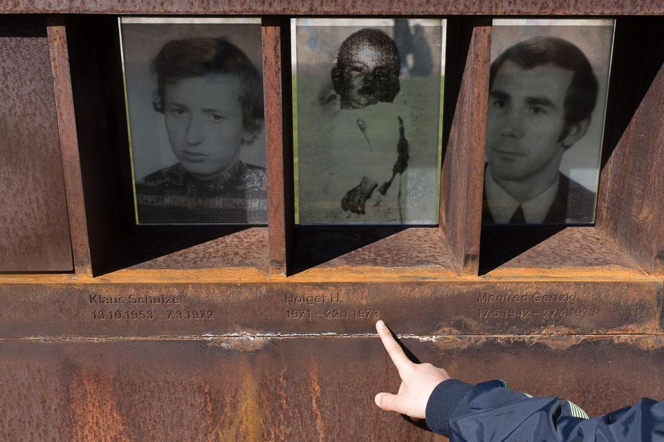 Denkmal zur Erinnerung an die Mauertoten