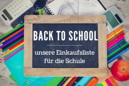 Back to School – unsere online Materialliste für die Grundschule und weiterführende Schule